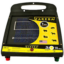 Zareba 10 Mile Solar Powered Electric Fence Charger Esp10m Z Zarebasystems Com