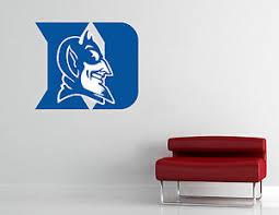 Duke Blue Devils Wall Decal Vinyl Sticker Room Extra Large Ebay