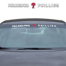Mlb Philadelphia Phillies Windshield Decal Fanmats Sports Licensing Solutions Llc