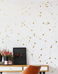 Gold Constellation Decals Celestial Decor Gold Star Etsy In 2020 Constellation Decal Constellation Decor Constellation Wall Art