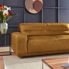 2 3 sitzer sofas in gelb