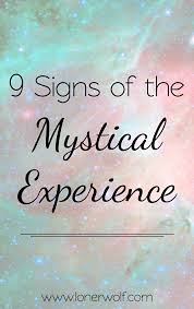 characteristics of the mystical experience woo mystic