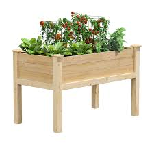 Cedar Elevated Garden Bed 48in X 24in X 31in Rcev2448 Greenes Fence Greenes Fence Company