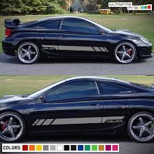 Sticker Decal Side Door Stripe Ki For Celica Gt S Sport Led Lights Bumper Wish