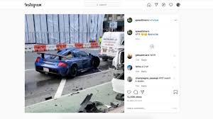 Porsche Supercar Goes On Rampage In ...