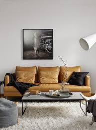 interior designs with tan leather sofa