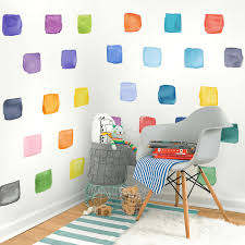 Large Rainbow Squares Wall Decals Project Nursery