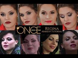 evil queen regina makeup tutorial