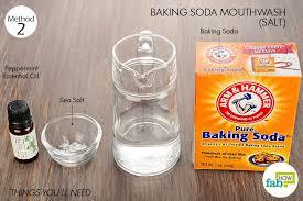 3 diy mouthwashes to banish bad breath
