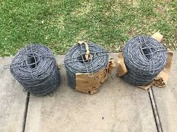 Fencing Barbed Wire Fencing