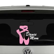 Dance Mom Ballet Shoes Vinyl Decal Cosmic Frogs Vinyl Dance Moms Vinyl Decals Ballet Mom Shirt