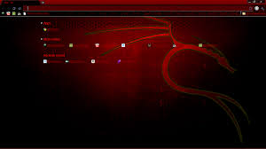 backtrack google chrome theme by
