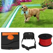Pet Fence Waterproof Dogs Underground Shock Collar Electric Dog Fence Fencing Containment System For 1 2 3 Dogs Training Collars Aliexpress