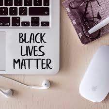 Vinyl Laptop Skin Decal Black Lives Matter 5 X 5 Removable Wat Imprinted Designs