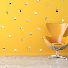 Diy Round Mirror Wall Stickers Removable Home Wall Decal Sale Price Reviews Gearbest