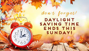 Daylight Saving Ends eCards - Free eMail Greeting Cards Online