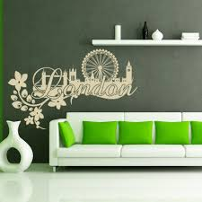 Shop Style And Apply London Floral Vinyl Wall Decal And Sticker Mural Art Home Decor Overstock 12026458
