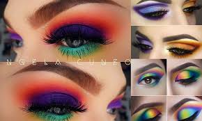 how to rock mismatched eye makeup trend