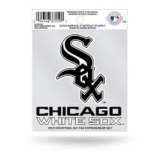 Chicago White Sox Static Cling Window Decal Mlb