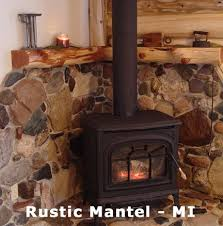 corner fireplace wood mantel for the