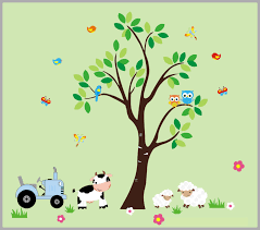 Farm Nursery Decals Kids Room Farm Theme Country Theme Nursery Nurserydecals4you