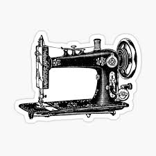 Sewing Machine Stickers Redbubble