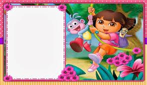 Dora Exploradora Imprimibles E Invitaciones Para Imprimir Gratis
