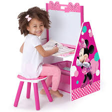 minnie mouse activity centre and stool
