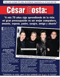 """César Costa: """"A mis 70 años sigo aprendiendo de la vida"""". - recordaresvivir"""
