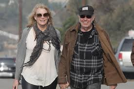 Neil Young and Daryl Hannah married