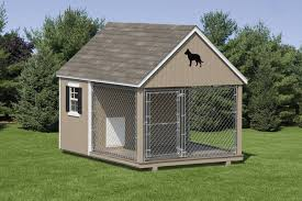 Dog Kennel Wood Amish Backyard Structures