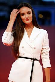 CHARLOTTE LE BON at The Promise Premiere at 43rd Deauville ...