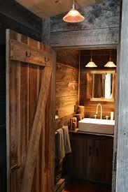 rustic cabin bathroom rustic