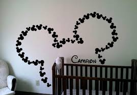 Get Personalized Wall Decal With Mickey Mouse