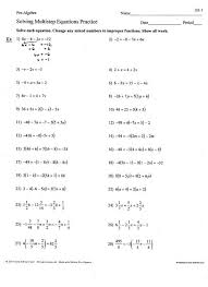 1 15 solving multi step equations