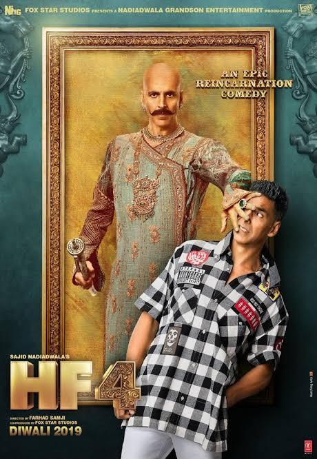 Housefull 4 (2019) Hindi Movie 720p HDRip x264 ESubs 1.3GB