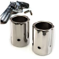 revolver shot glass set of 2