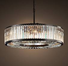 welles crystal chandelier