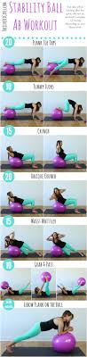 ility ball ab workout 7 exercises