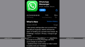 WhatsApp for iPhone Update Brings Call Waiting Support, Chat ...