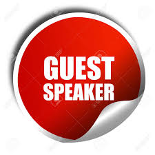 Image result for guest speaker