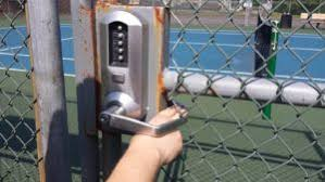 Chain Link Fence Gate Combination Lock Chain Link Fence Gate Fence Gate Chain Link Fence
