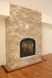 natural stone fireplace traditional