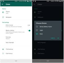 WhatsApp beta for Android gains Dark mode - Neowin