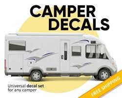 Camper Decal Custom Rv Vinyl Decal Camper Rv Motorhome Etsy