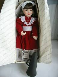 """HILLARY Hamilton Heritage Collection Porcelain Doll My First Recital 19  1/2"""" 