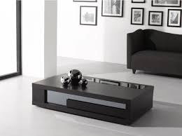 wenge wood glass top coffee table j m