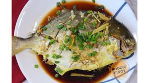 Steamed Pompano – Foodie Pinoy