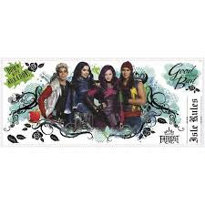 Shop Roommates Descendants Isle Of The Lost Wall Graphic Decal Free Shipping On Orders Over 45 Overstock 10648409