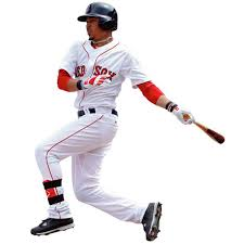 Boston Red Sox Mookie Betts Fathead Life Size Removable Wall Decal